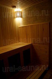 Отделка сауны в Челябинске