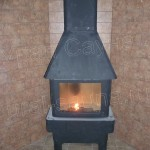 Отопительная печь- камин
