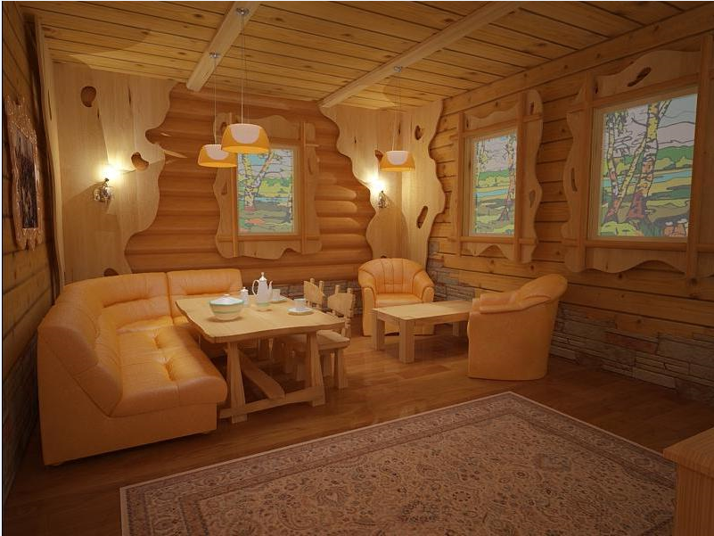 Дизайн бань и комнат отдыха