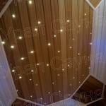 Освещение звездное небо в сауне