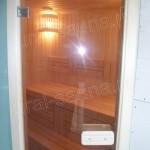 Дверь бронза для бани